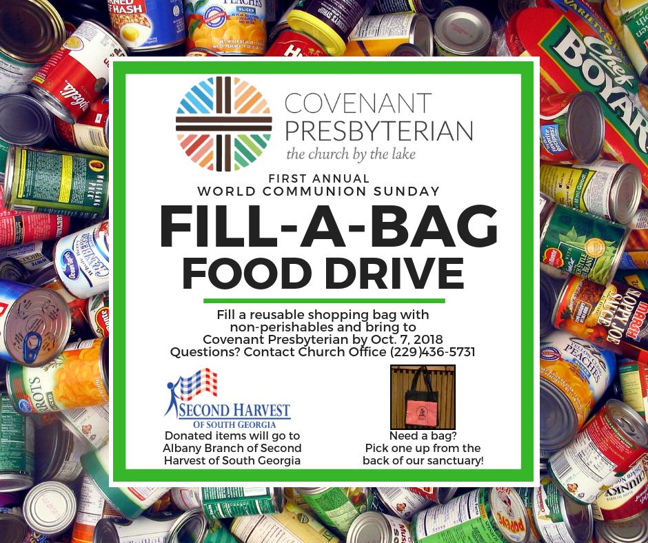 Fill-A-Bag Food Drive