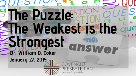 The Puzzle_ The Weakest is the Strongest